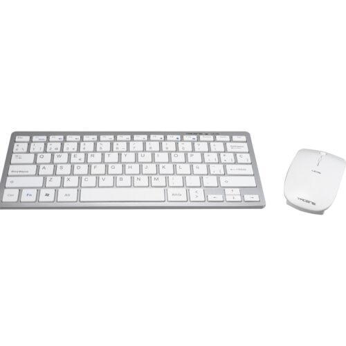 Tacens Levis Combo teclado RF inalámbrico QWERTY Blanco